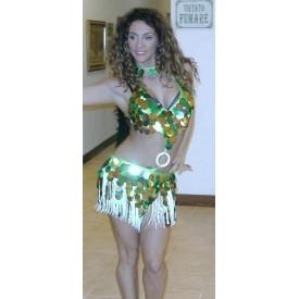 Abito da ballo latino per donna, abito Gold