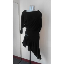 Dress dance latin GIADA BLACK