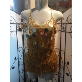 DRESS GOLD SILVER