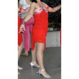 DRESS RED MOSAIC